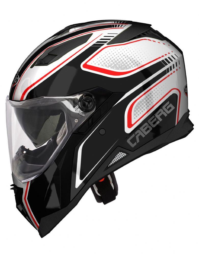 Motobox Mu Caberg Stunt Blade WhiteRedBlack - 4