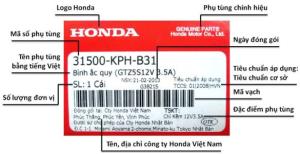 Nhung dieu can biet ve phu tung chinh hang Honda - 5