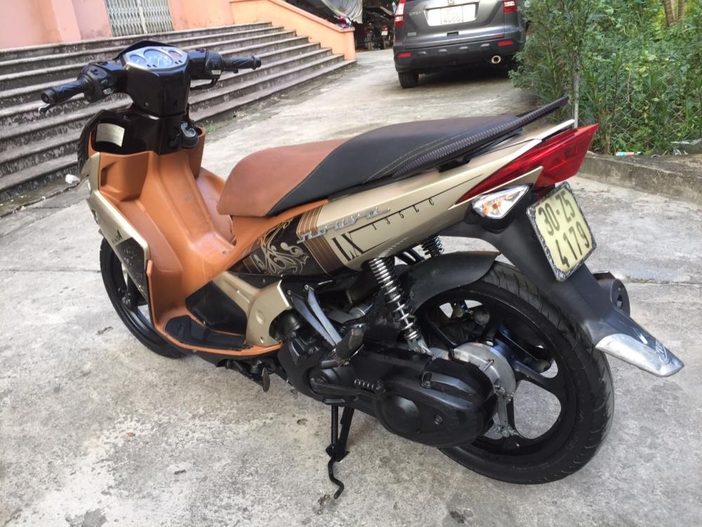 Rao ban xe Yamaha Nouvolx 135 Nau rat moi may chay cuc phe - 5