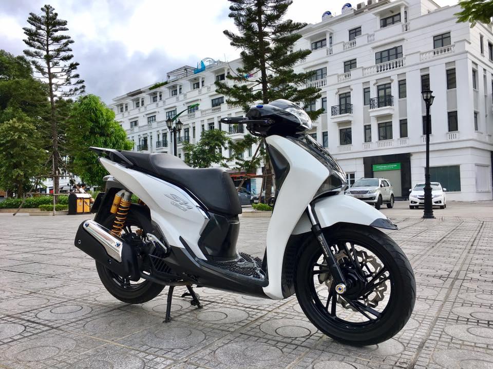 Sh150i do cuc chat voi phien ban up len 300i day sang tao - 7