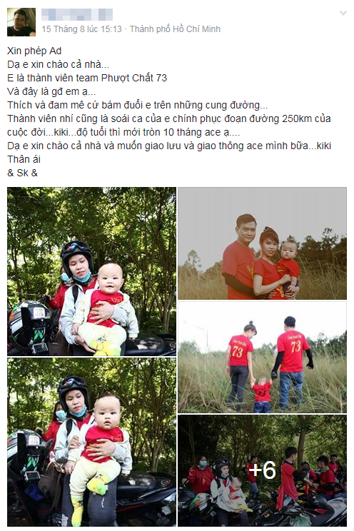 SOAI CA 10 thang tuoi phuot cung bo me chinh phuc 250km dau doi - 2