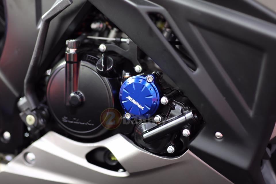 Suzuki tung ra mau xe GSXS150 phien ban Custom - 3
