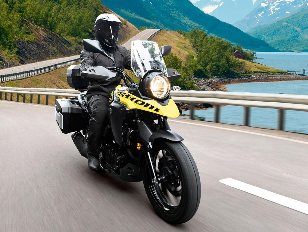 Suzuki VStrom 250 gia nhap phan khuc Adventure tri gia 136 trieu dong - 5