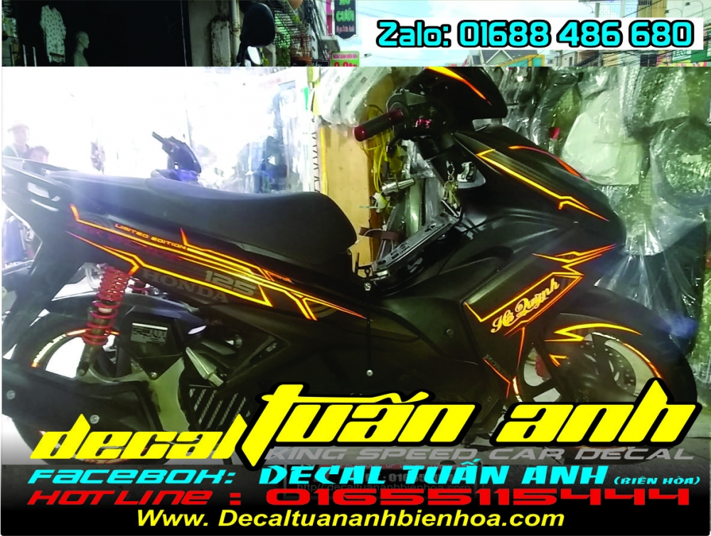 Tong hop bo tem xe Airblade 125 chat do Decal Tuan Anh bien hoa thuc hien - 8