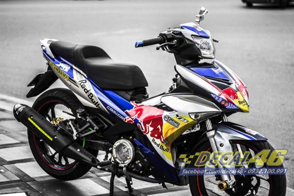 Tong hop bo tem xe Exciter 150 thang 8 cuc chat do Decal 46 thuc hien - 7