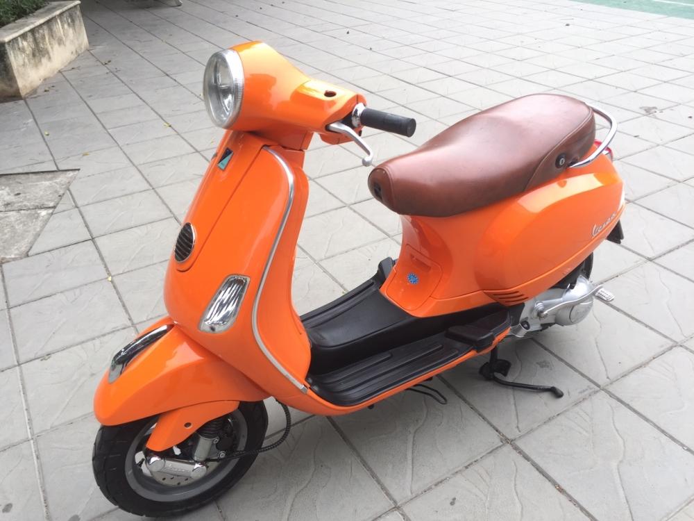 Vespa LX 125 Viet mau cam 2011 khoa tu 30X6 6801 - 4