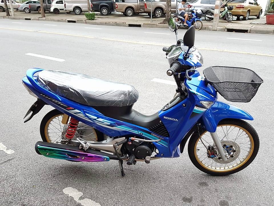 Wave i125 ban do nhe nhang tao an tuong cua biker nuoc ban - 7