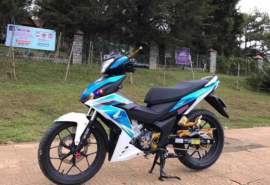 Winner 150 do kieng ca tinh cua biker pho nui - 6