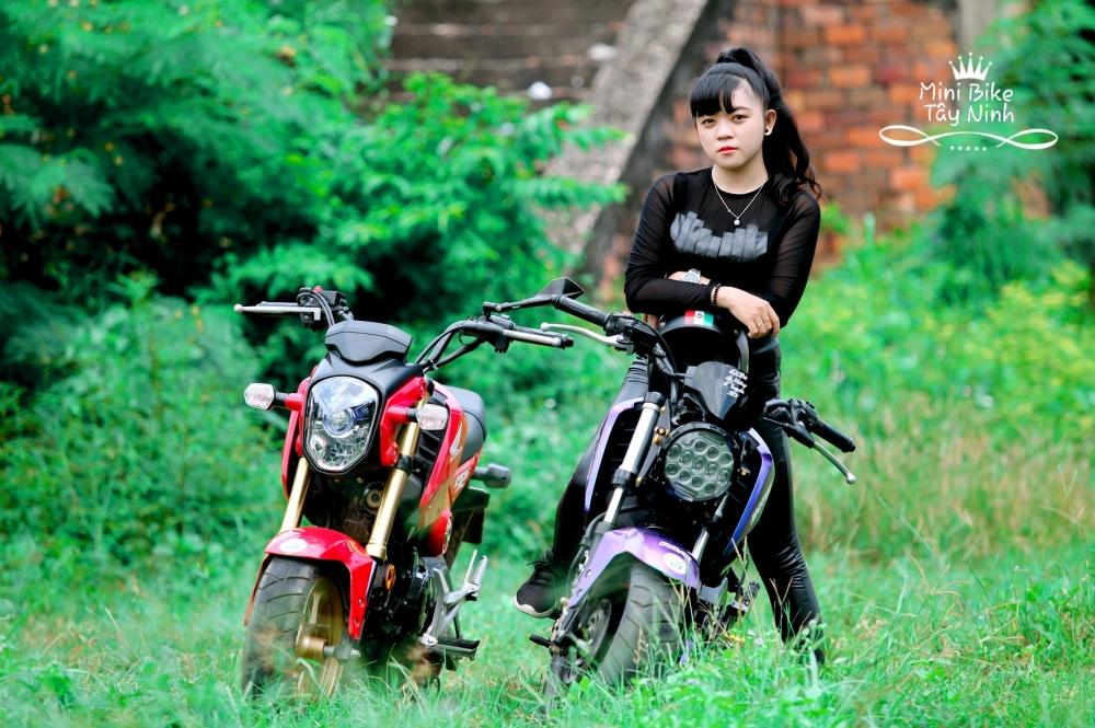Xe MSX Do Don Gian Cua Clup MiNi BiKe Tay Ninh