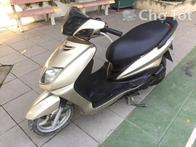 Yamaha Cygnus 4V 125cc mau vang cat nguyen ban - 2