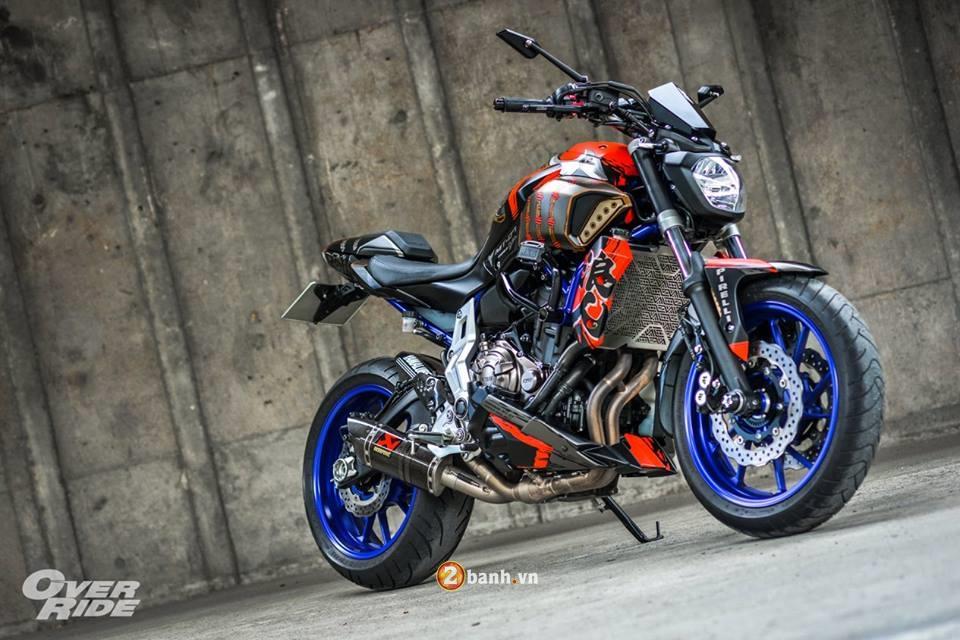 Yamaha MT07 dung manh ben bo canh Samurai huyen thoai - 18