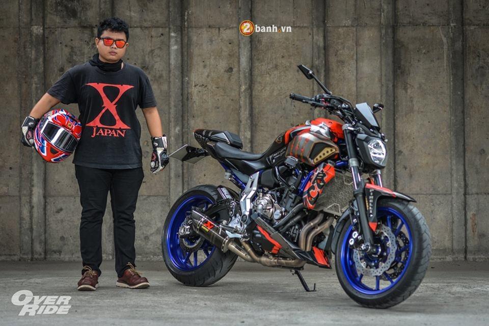 Yamaha MT07 dung manh ben bo canh Samurai huyen thoai - 21