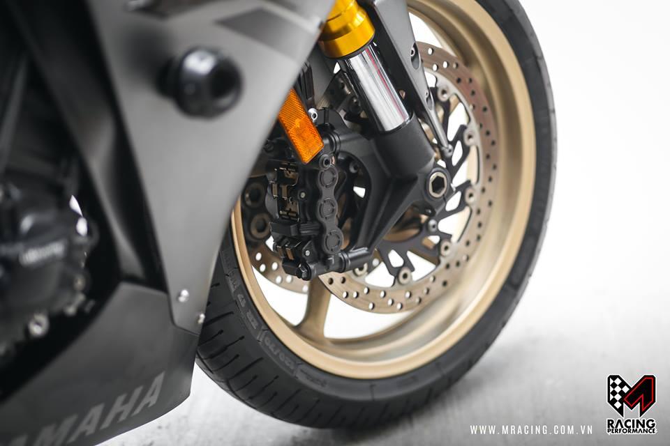 Yamaha R1 Matte Gray ve dep kho cuong - 3