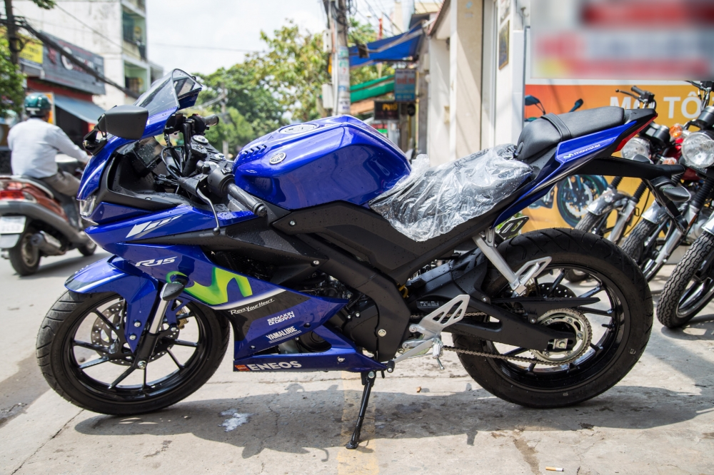 Yamaha R15 2017 phien ban Movistar ve VN voi gia ban hon 110 trieu dong - 3