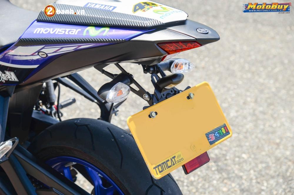 Yamaha R3 lot xac trong ban do Movista cuc chat - 7
