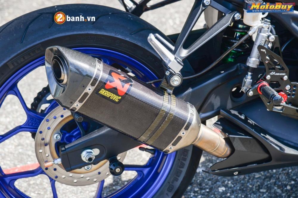 Yamaha R3 lot xac trong ban do Movista cuc chat - 9