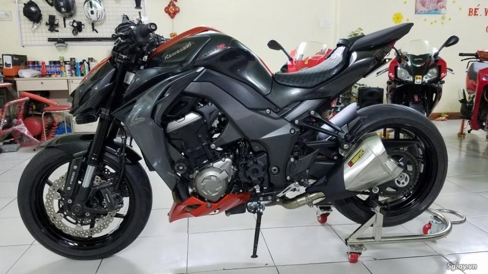 Ban Kawasaki Z1000 62015 ABS HISS Chau Au Saigon bien dep