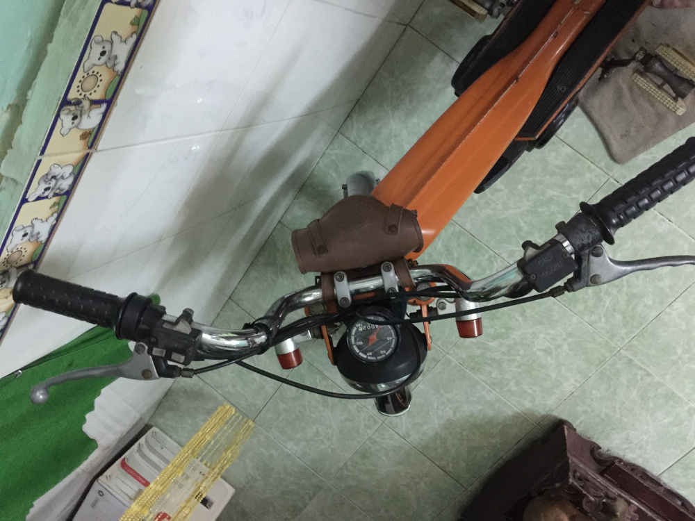 Ban xe Tomos hai thi duoi 50cc gia 16tr dong Anh em nao suu tam lien he minh 0937136366Truong - 2