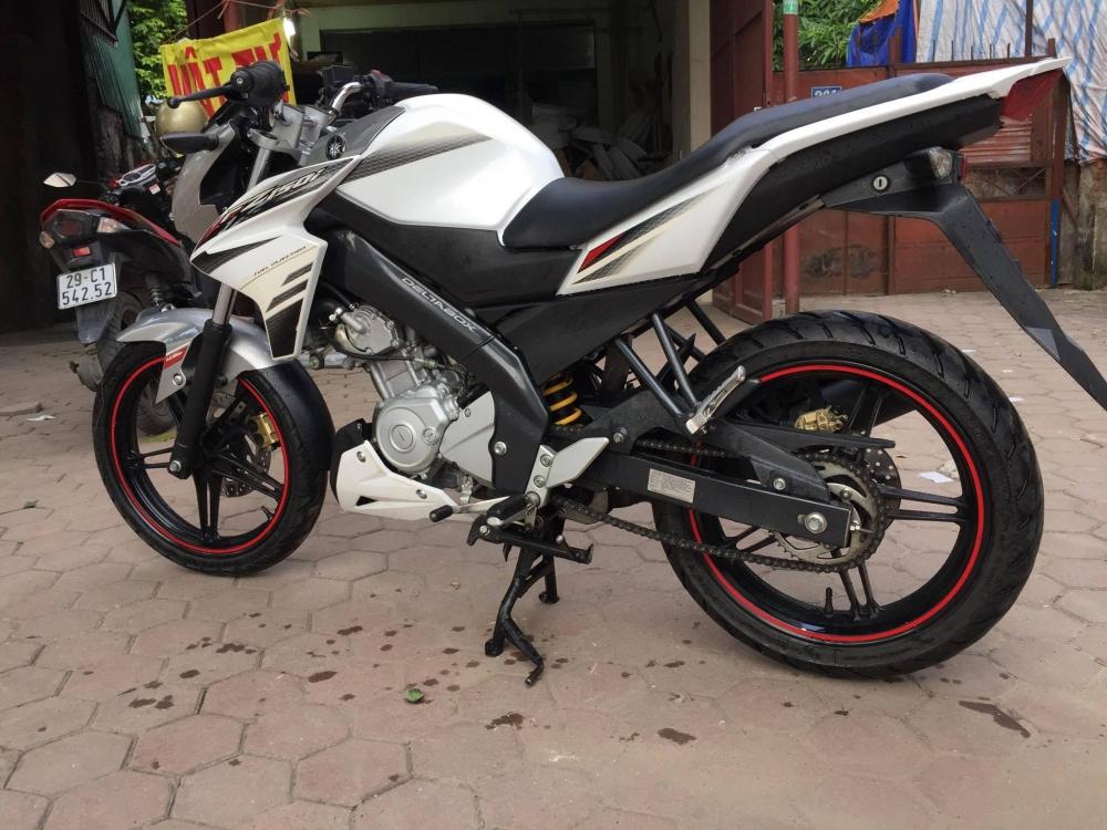 Ban Yamaha Fz150i Trang Xe dang ki 2014 - 2