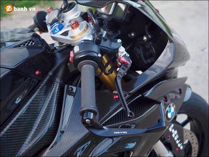 BMW S1000RR do Ca Map tram tinh khoac ao full Carbon - 4