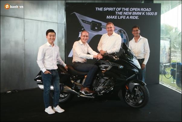 BMW va MF Motorrad hop tac voi Big Bike de mo rong phong trung bay Rama 5 voi su ra mat cua BMW K160