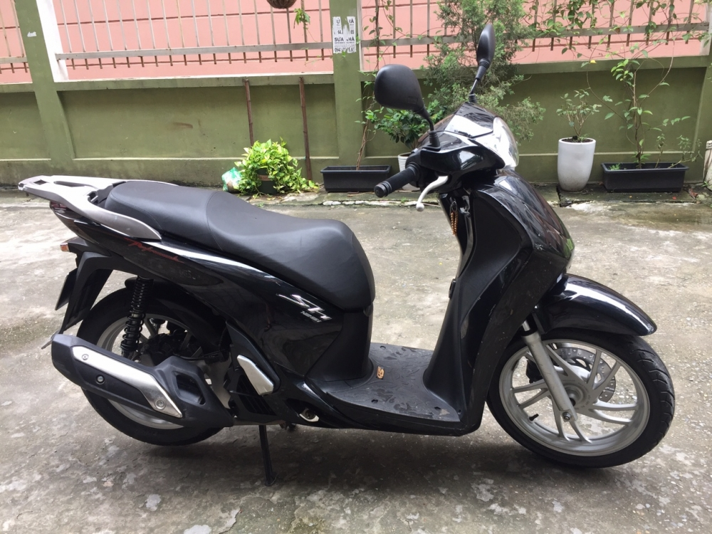 Can ban Honda Sh 125i Viet 2014 nguyen ban con moi 95 chinh chu su dung - 2