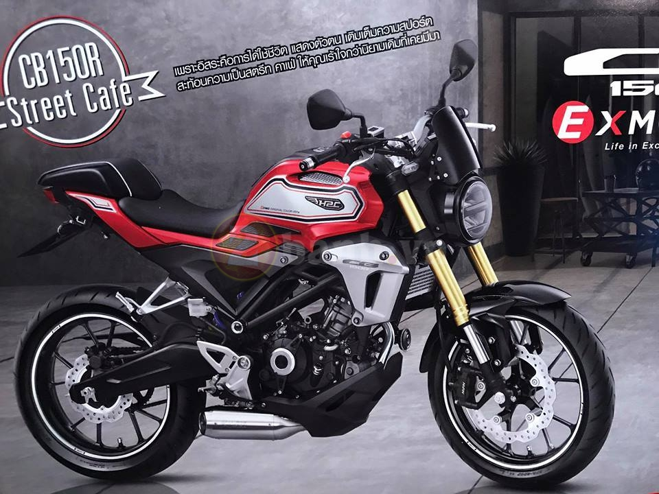 Can canh Honda CB150R Exmotion 2017 voi phien ban Scramble Cafe - 3