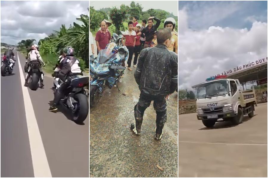 Doan xe PKL Viet Nam thong chot CSGT cang nhat lich su cai ket