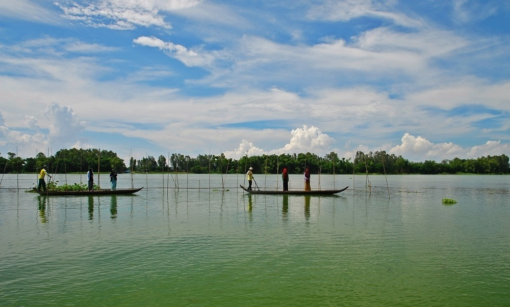 Du lich An Giang ve Bung Binh Thien Ho nuoc troi ban