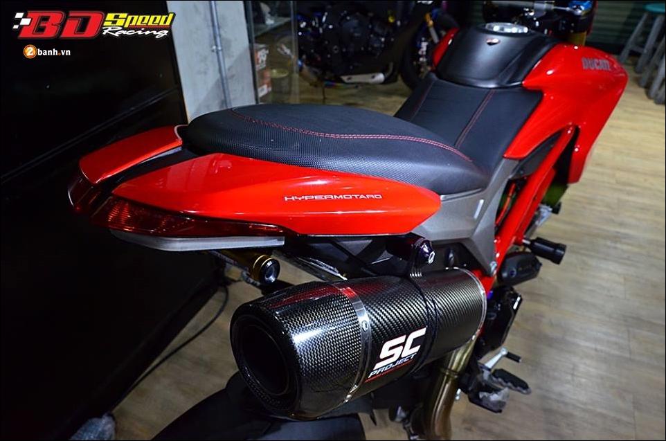 Ducati Hypermotard 821 do Vua duong pho trong trang bi hang sang - 11