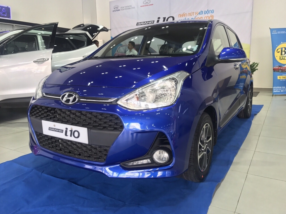 Duy nhat Thang 9 ban gia von cho Hyundai Grand i10 so san tu dong - 2