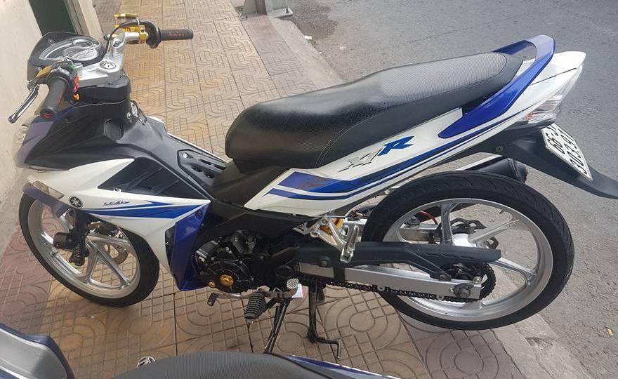 Exciter 135 do an than phia sau bo canh X1R cua biker Dong Thap - 8