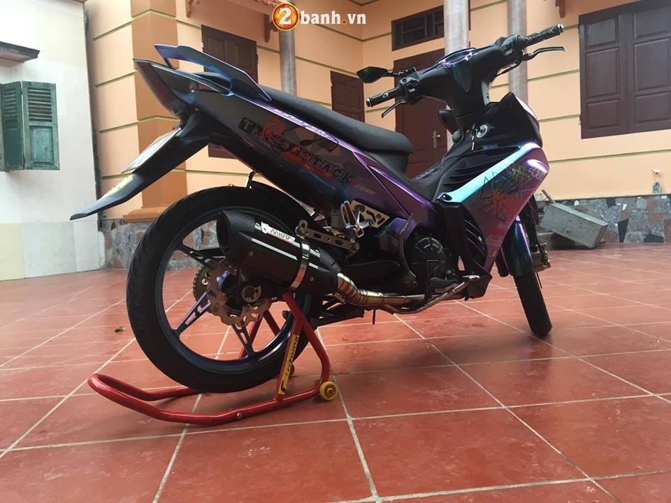 Exciter 135 do cuc ngau voi hoi tho dung manh day ca tinh - 9