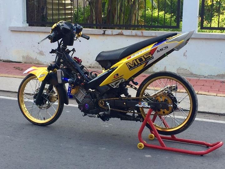 Exciter 135 do Drag day an tuong voi hinh anh Minions - 12