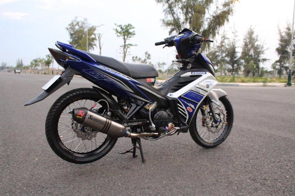 Exciter 135 do khung voi tao hinh nguyen ban tu biker Viet - 3