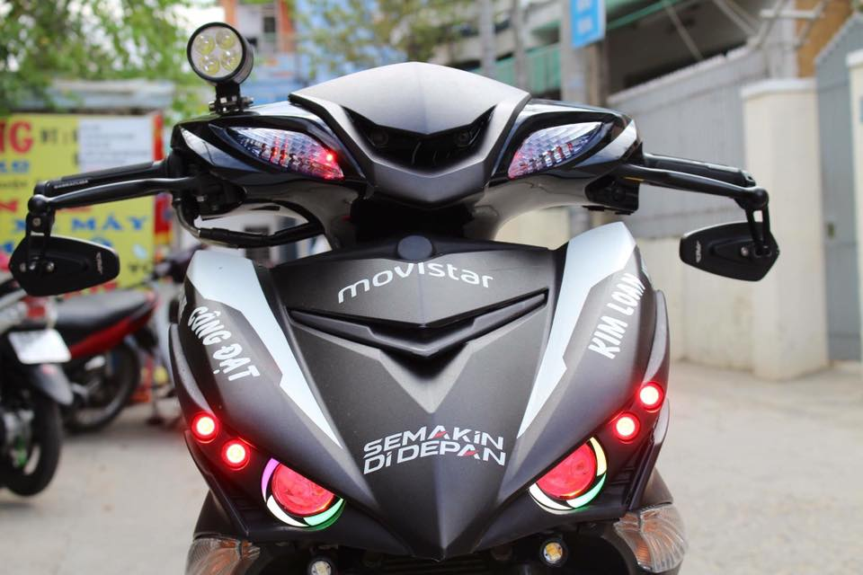 Exciter 150 do kieng buc pha phien ban Movistar cua Biker Da Nang - 4