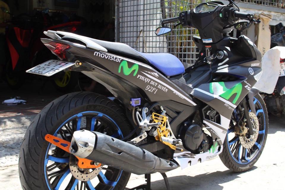 Exciter 150 do kieng buc pha phien ban Movistar cua Biker Da Nang - 6