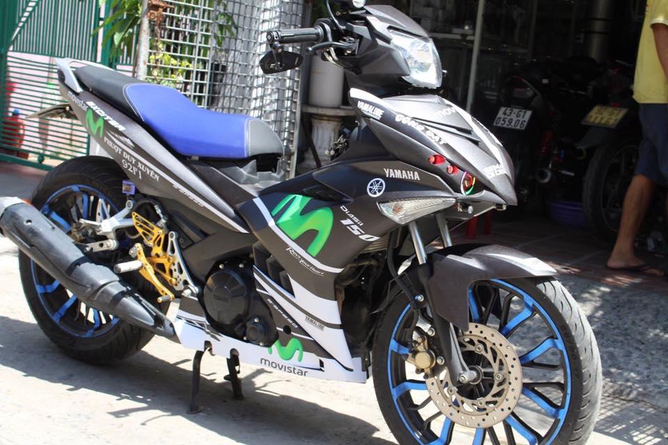 Exciter 150 do kieng buc pha phien ban Movistar cua Biker Da Nang - 8