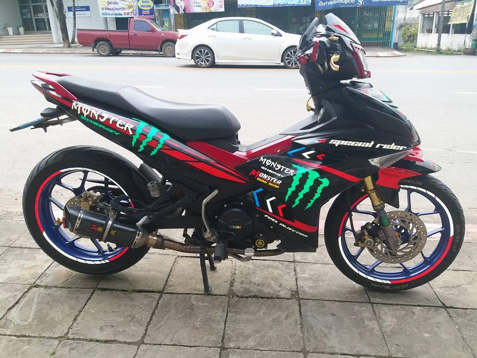 Exciter 150 do kieng lot xac theo tung ngay cua biker Thailand - 5