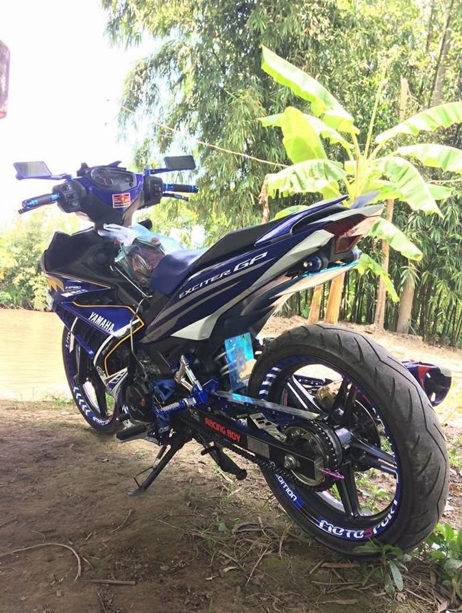 Exciter 150 do kieng nhe nhang tao an tuong cua Biker Hau Giang - 4