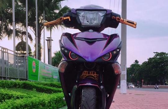 Exciter 150 do kieng sieu ngau dang cap cua biker Yen Bai
