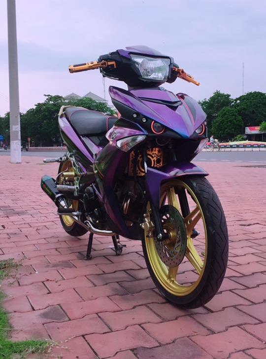 Exciter 150 do kieng sieu ngau dang cap cua biker Yen Bai - 4