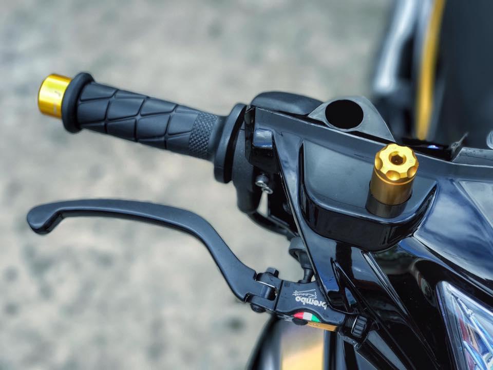 Exciter 2010 do kieng leng keng day an tuong cua biker Viet - 4