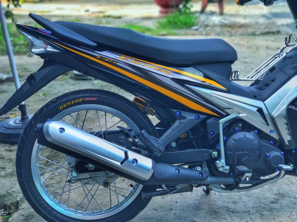 Exciter 2010 do kieng leng keng day an tuong cua biker Viet - 8