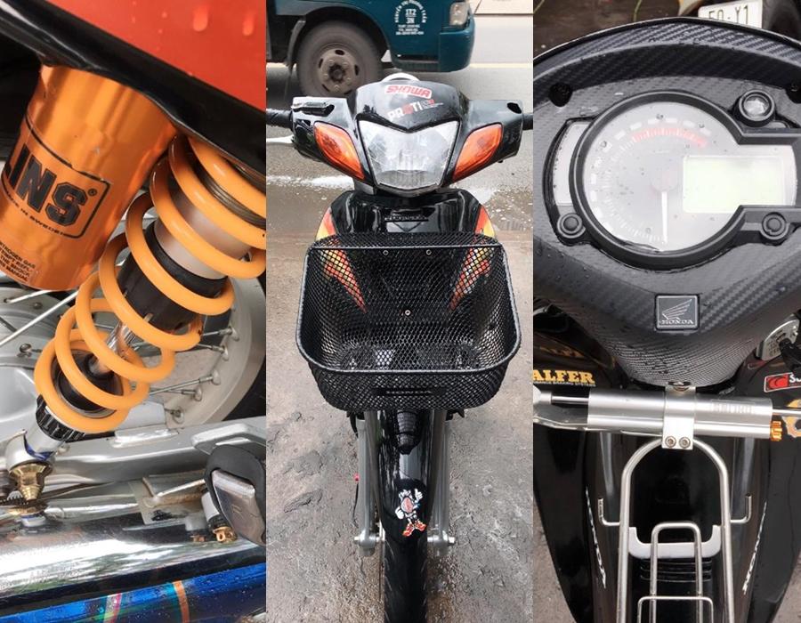 Future 2 do cua mot Biker Sai Gon don full Wave 125i