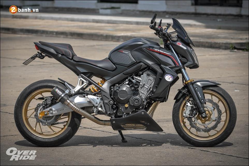 Honda CB650F Chien binh Nakedbike cung cap voi ban do bui bam phong tran - 15