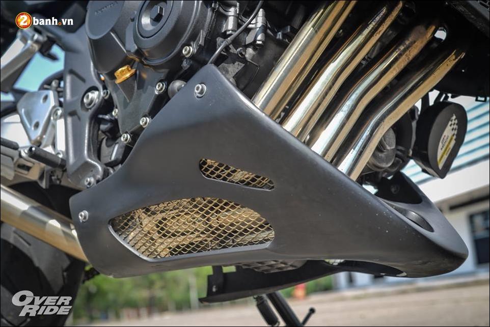 Honda CB650F Chien binh Nakedbike cung cap voi ban do bui bam phong tran - 14