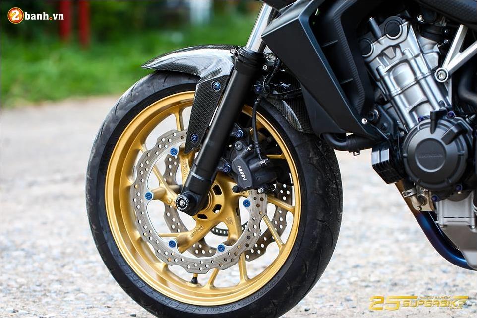 Honda CB650F do tinh te qua cong nghe do choi Titanium - 10