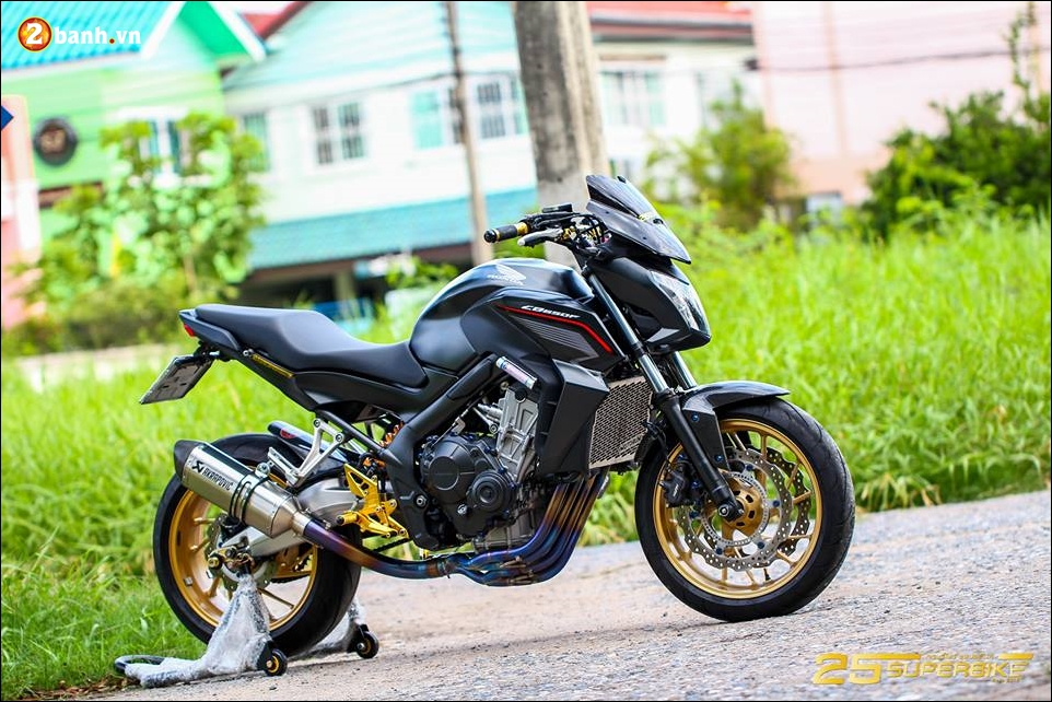 Honda CB650F do tinh te qua cong nghe do choi Titanium - 17
