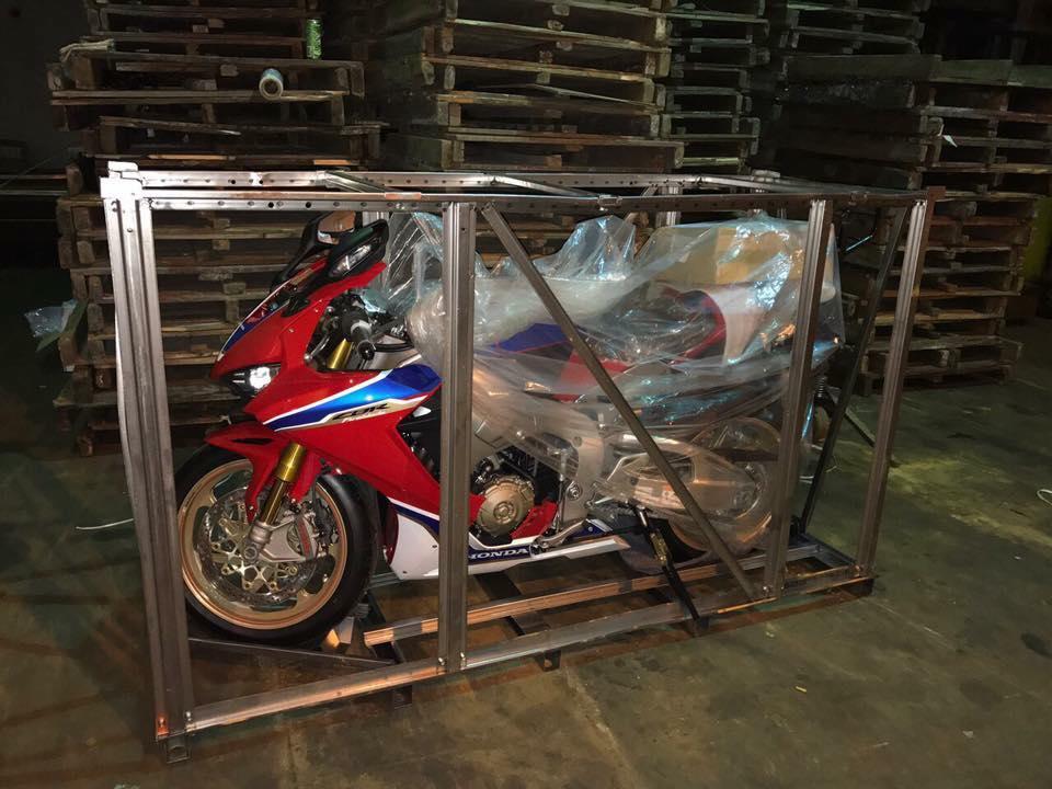 Hang cuc hiem Honda CBR 1000RR SP2 dau tien ve Viet Nam